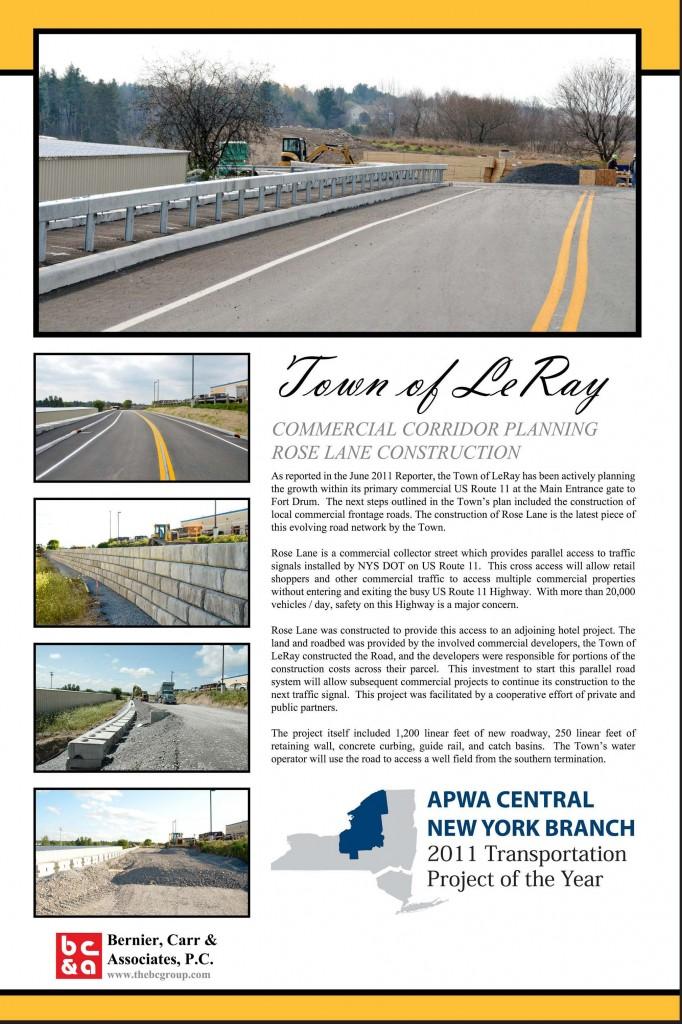 Rose Lane Town of LeRayle ray town